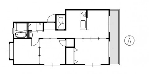 第1マンション106号室